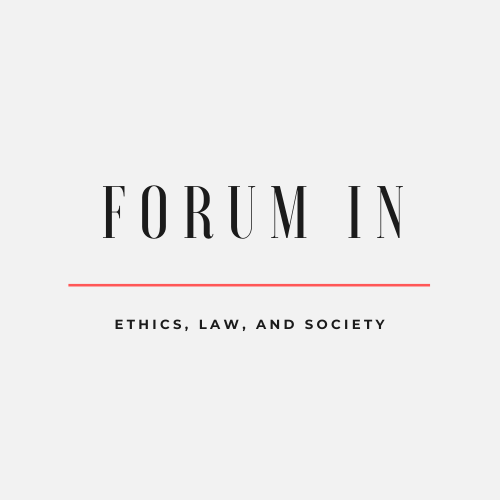 Logo for the Forum in Ethics Law and Society